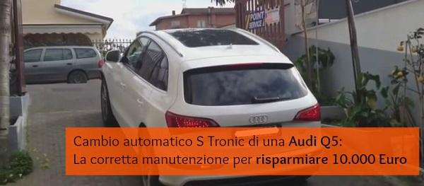 cambio automatico s tronic audi