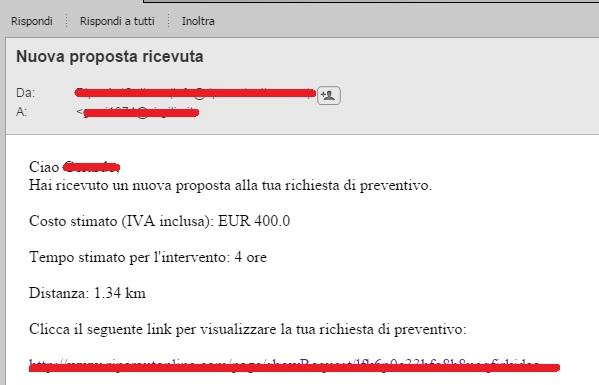 preventivo portale online