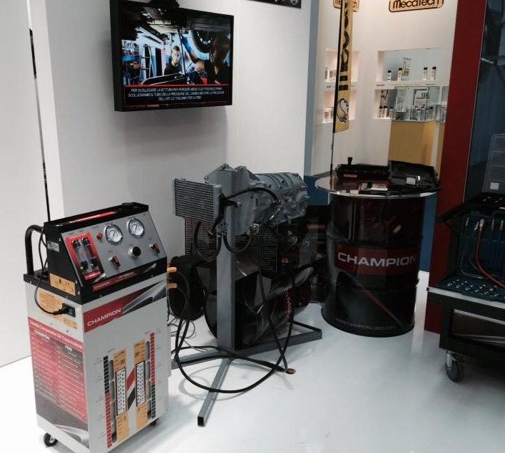 macchinario lavaggio cambio automatico