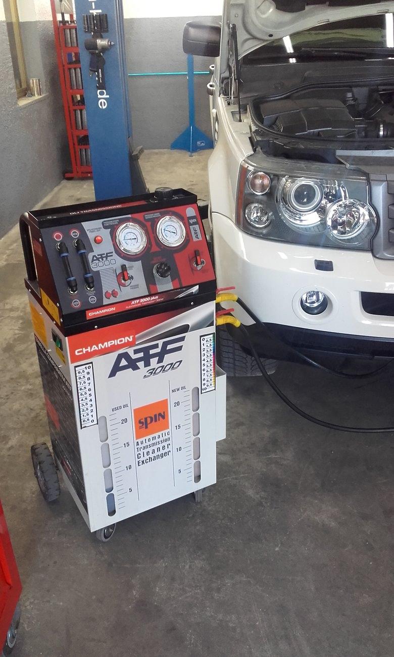 ATF manutenzione cambio automatico