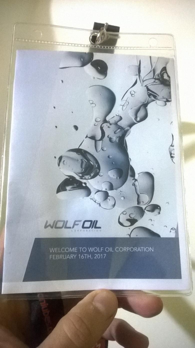 wolf oil corporation stabilimenti