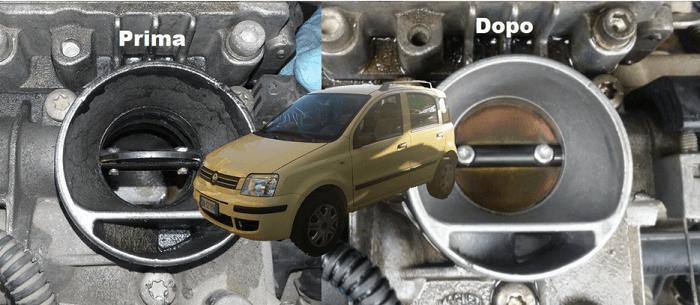 Trattamento Chimico su Fiat Panda a Benzina