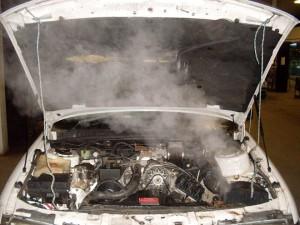 alta temperatura motore