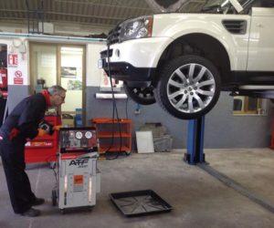 manutenzione cambio automatico range rover sport