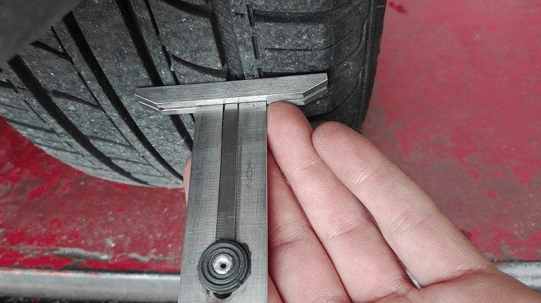 revisione auto pneumatici diversi