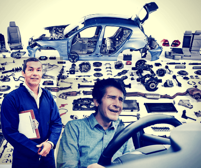 riparazione auto troppo costosa