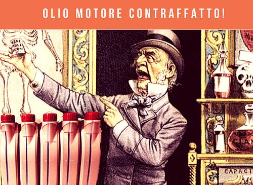 olio motore contraffatto facebook